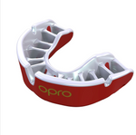 OPRO GOLD GEN 4 MOUTH GUARD PEARL RED/PEARL
