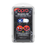 OPRO POWER FIT COUNTRIES MOUTH GUARD SCOTLAND PACKET