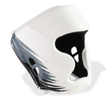 PUNCHTOWN KRANION KR HEAD GUARD WHITE/BLACK FRONT