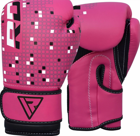 RDX 3B DINO KIDS BOXING GLOVES PINK