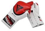 RDX A2 BBBOFC APPROVED PRO FIGHT BOXING GLOVES ANGLE