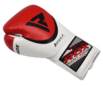 RDX A2 BBBOFC APPROVED PRO FIGHT BOXING GLOVES BACK