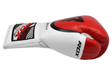 RDX A2 BBBOFC APPROVED PRO FIGHT BOXING GLOVES SIDE