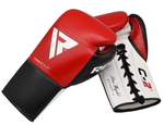 RDX C2 BBBOFC APPROVED FIGHT BOXING GLOVES ANGLE