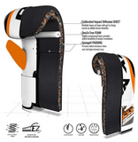 RDX F12 FILLED ORANGE PUNCH BAG WITH BAG GLOVES FEATURES