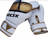 RDX F7 EGO BOXING GLOVES GOLD BOTH