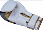 RDX F7 EGO BOXING GLOVES GOLD CLOSED STRAP