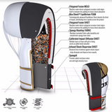 RDX F7 EGO BOXING GLOVES GOLD FEATURES