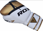 RDX F7 EGO BOXING GLOVES GOLD OUTSIDE