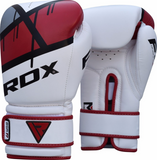 RDX F7 EGO BOXING GLOVES RED