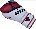 RDX F7 EGO BOXING GLOVES RED OUTSIDE