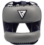 RDX O2 SPARRING HEAD GUARD WITH NOSE PROTECTION BAR FRONT