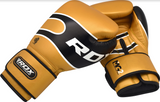 RDX S7 BAZOOKA LEATHER SPARRING GLOVES ANGLE
