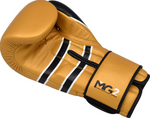 RDX S7 BAZOOKA LEATHER SPARRING GLOVES INSIDE