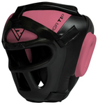 RDX T1 PINK HEAD GUARD WITH FACE CAGE
