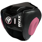 RDX T1 PINK HEAD GUARD WITH FACE CAGE BACK
