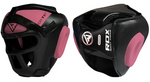 RDX T1 PINK HEAD GUARD WITH FACE CAGE BOTH