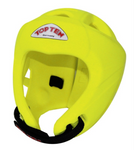 TOP TEN AVANTGARDE HEAD GUARD NEON YELLOW
