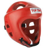TOP TEN FIGHT HEADGUARD (OLYMPIA) RED