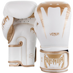 VENUM GIANT 3.0 BOXING GLOVES WHITE/GOLD BACK