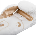 VENUM GIANT 3.0 BOXING GLOVES WHITE/GOLD INSIDE