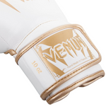 VENUM GIANT 3.0 BOXING GLOVES WHITE/GOLD STRAP