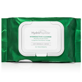 Hydroactive Cleanse – Facial Towelettes + Detox