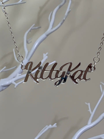 Kittykat necklace