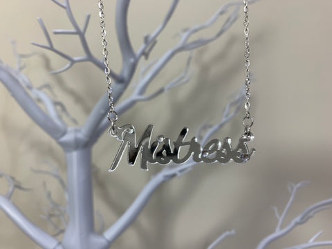 Mistress necklace