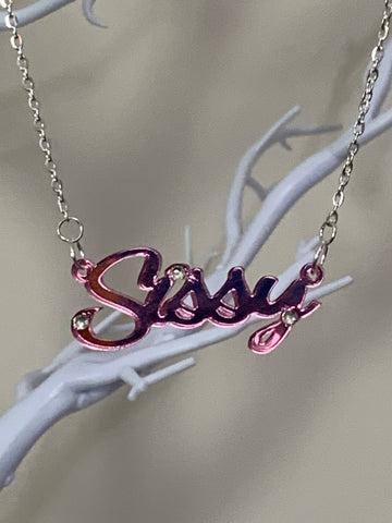 Sissy necklace