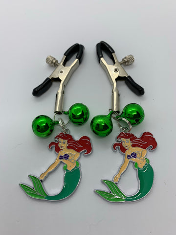 Ariel (inspired) adjustable nipple clamps with bells