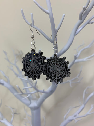 Cobwebs earrings (dangly)