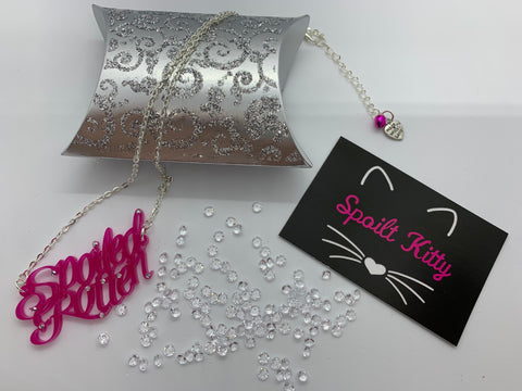 Spoiled Rotten necklace