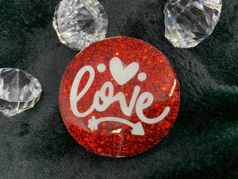 Love brooch (small)