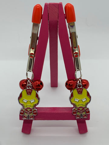 Ironman (inspired) adjustable nipple clamps with bells