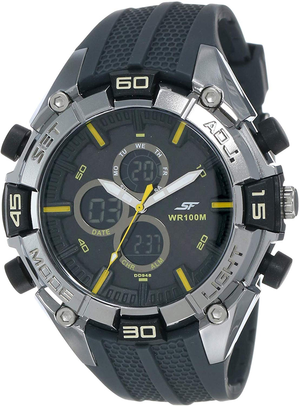 Sonata Ocean Series III Analog-Digital Multi-Color Dial Unisex Watch - NK77028PP01