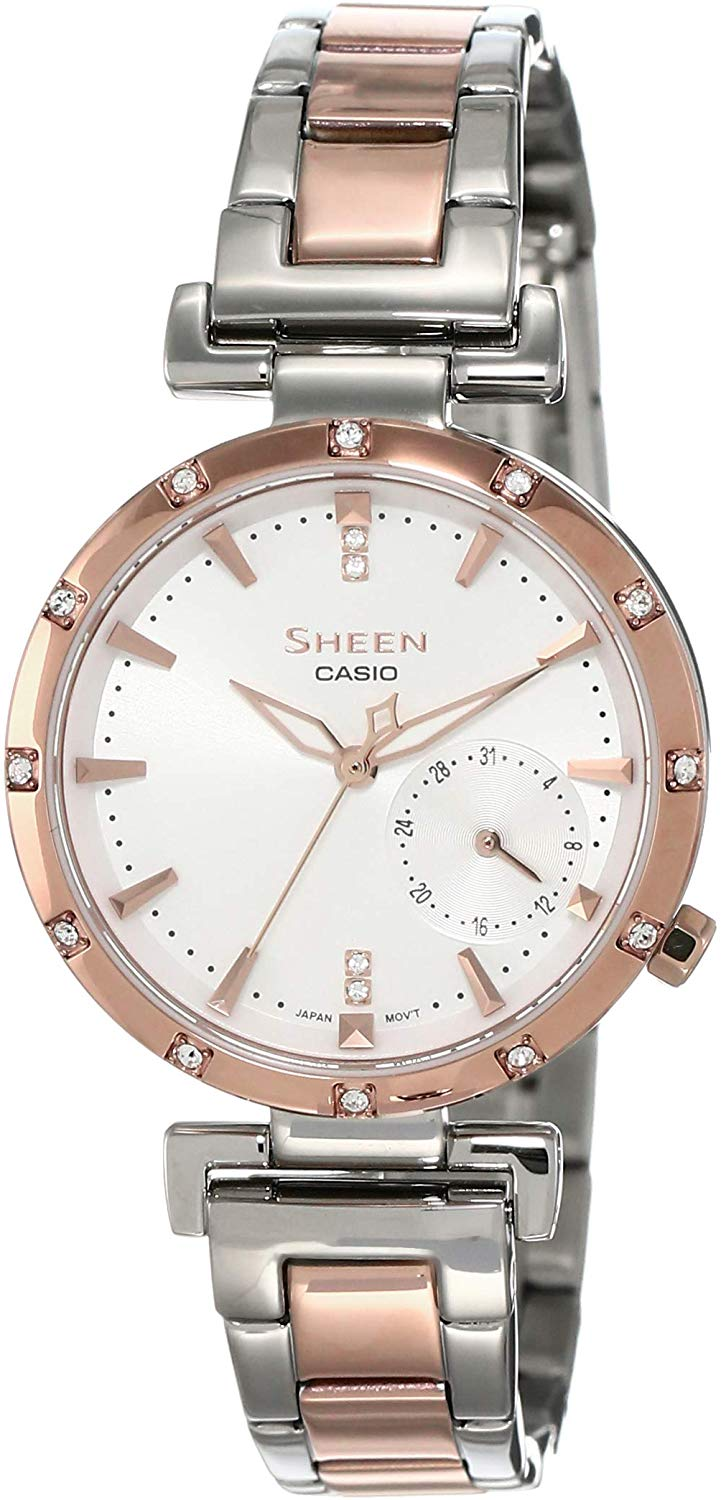 Casio Sheen SHE-4051SPG-7AUDF (SX224) Rose Gold Women's Watch