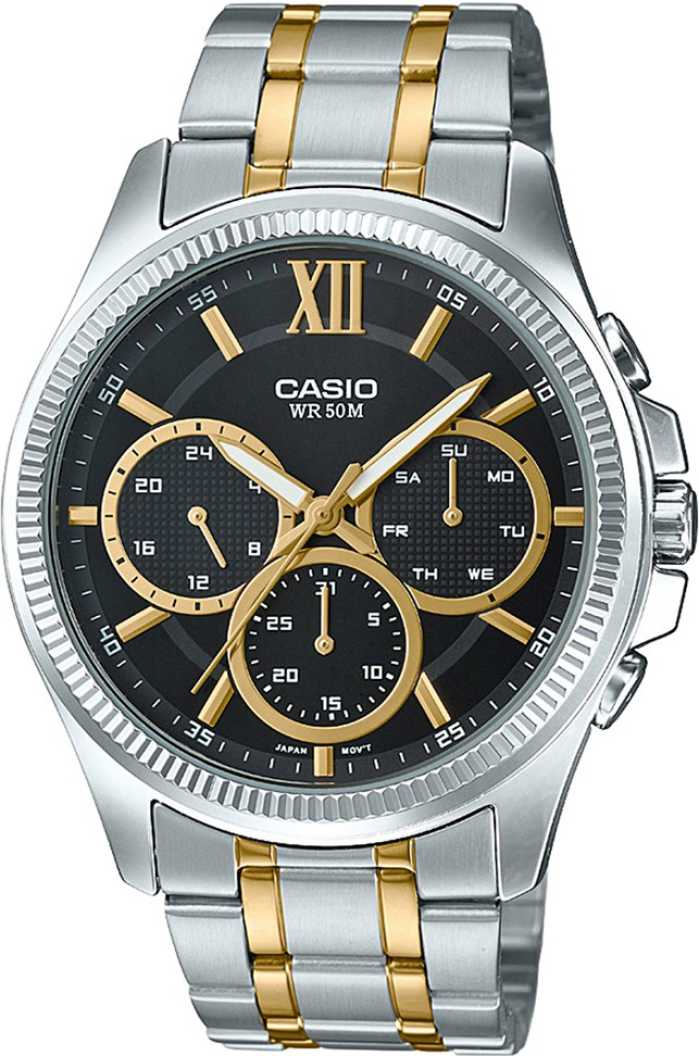 Casio Enticer Men MTP-E315SG-1AVDF (A1360) Multi Dial Men's Watch