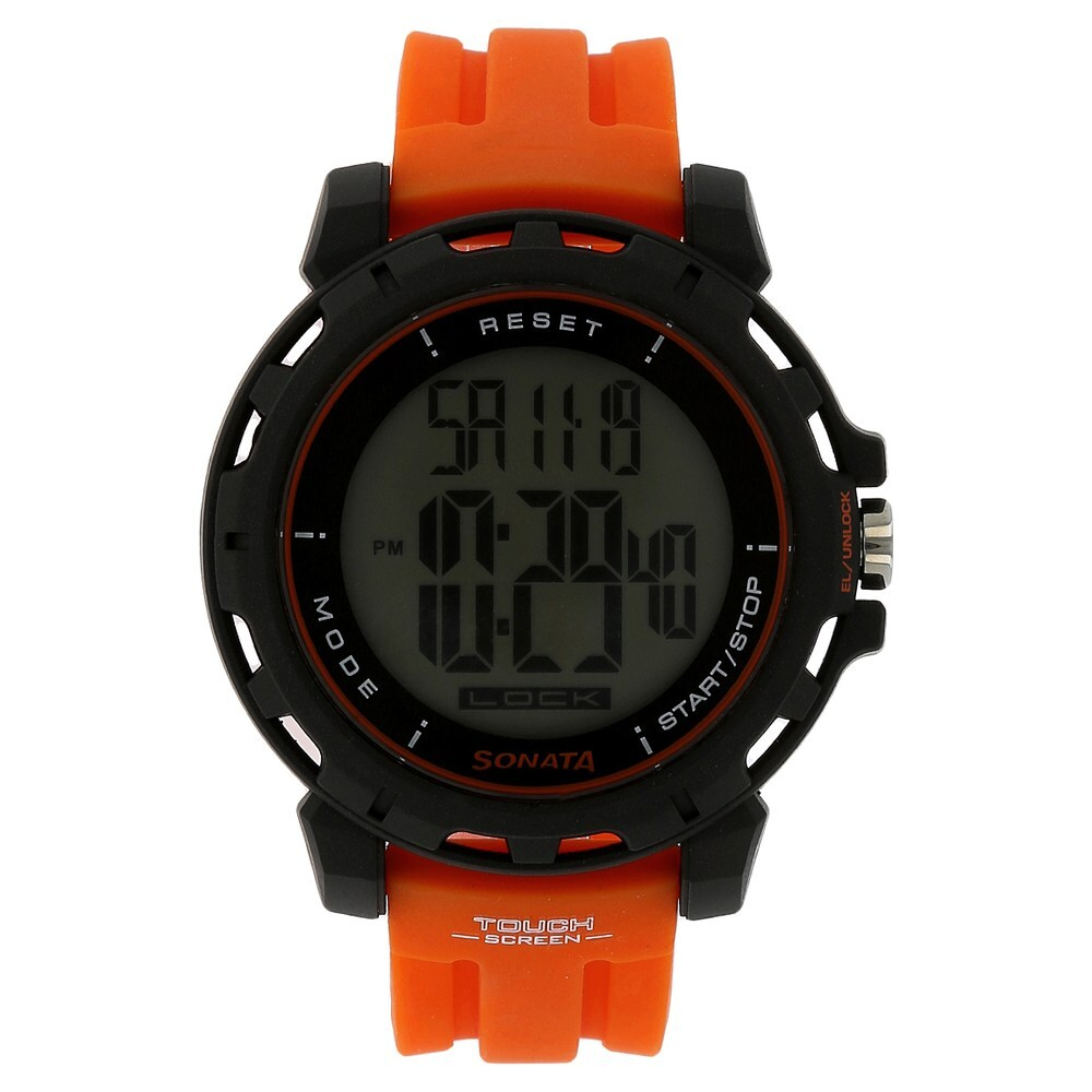 Soanata 77037PP01J Digital Watch  For Men