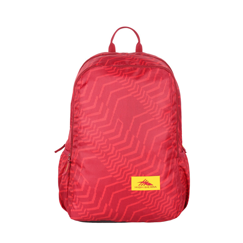 High Sierra Ridge 01 Casual Backpack By American tourister (Red)
