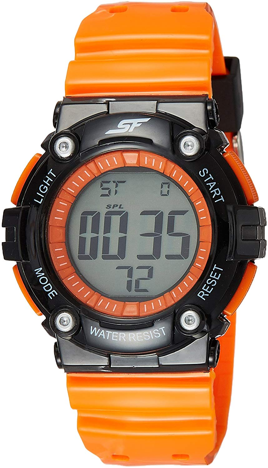 Sonata Sports Digital Grey Dial Men's Watch - 77042PP03J