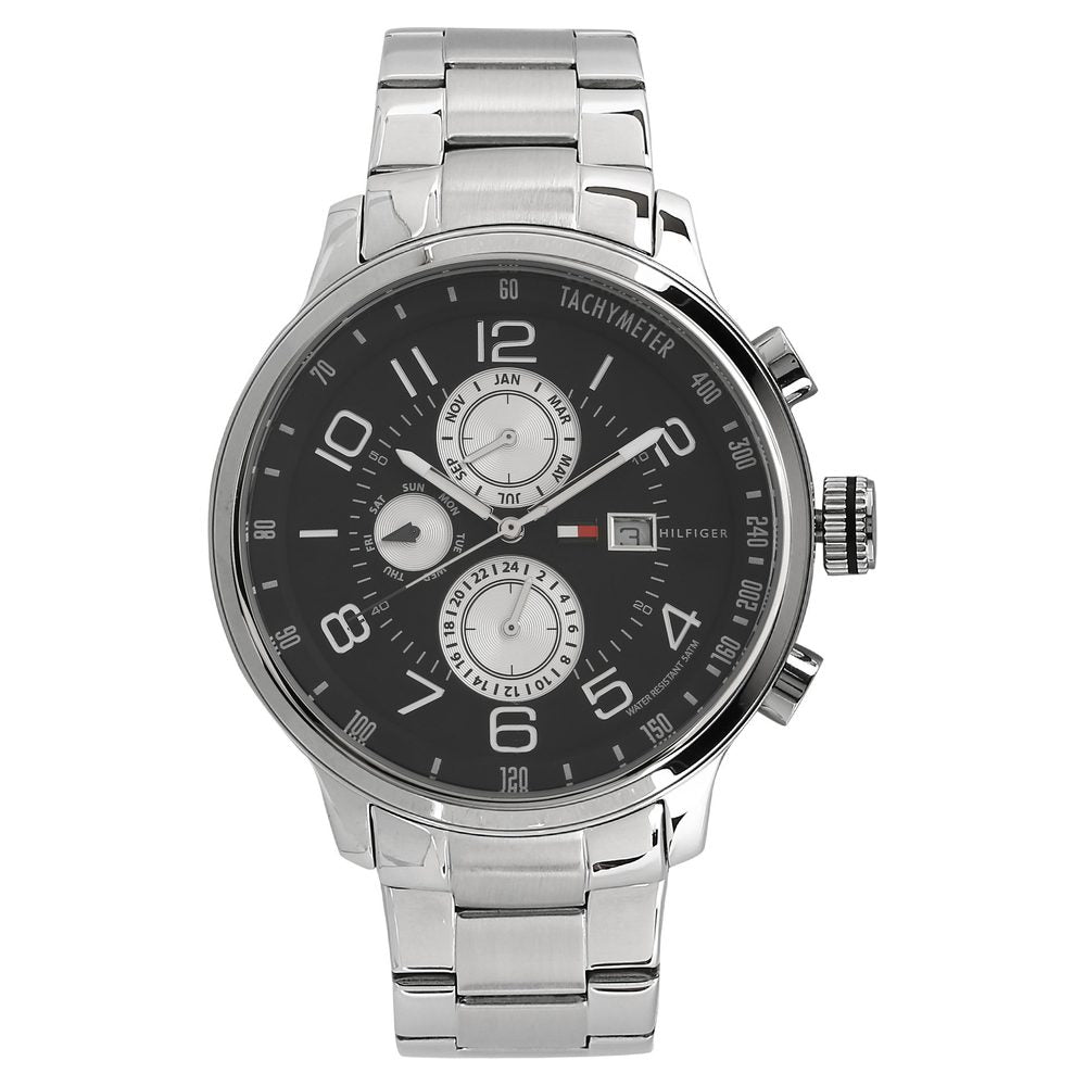 Tommy Hilfiger Analog Black Dial Men's Watch - NATH1790860