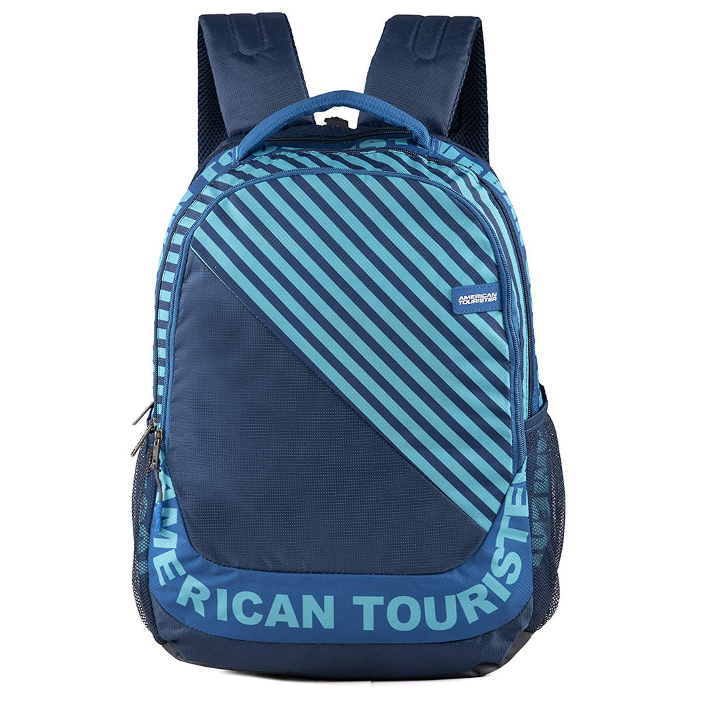American Tourister Pop Nxt 01 Navy Casual Backpack