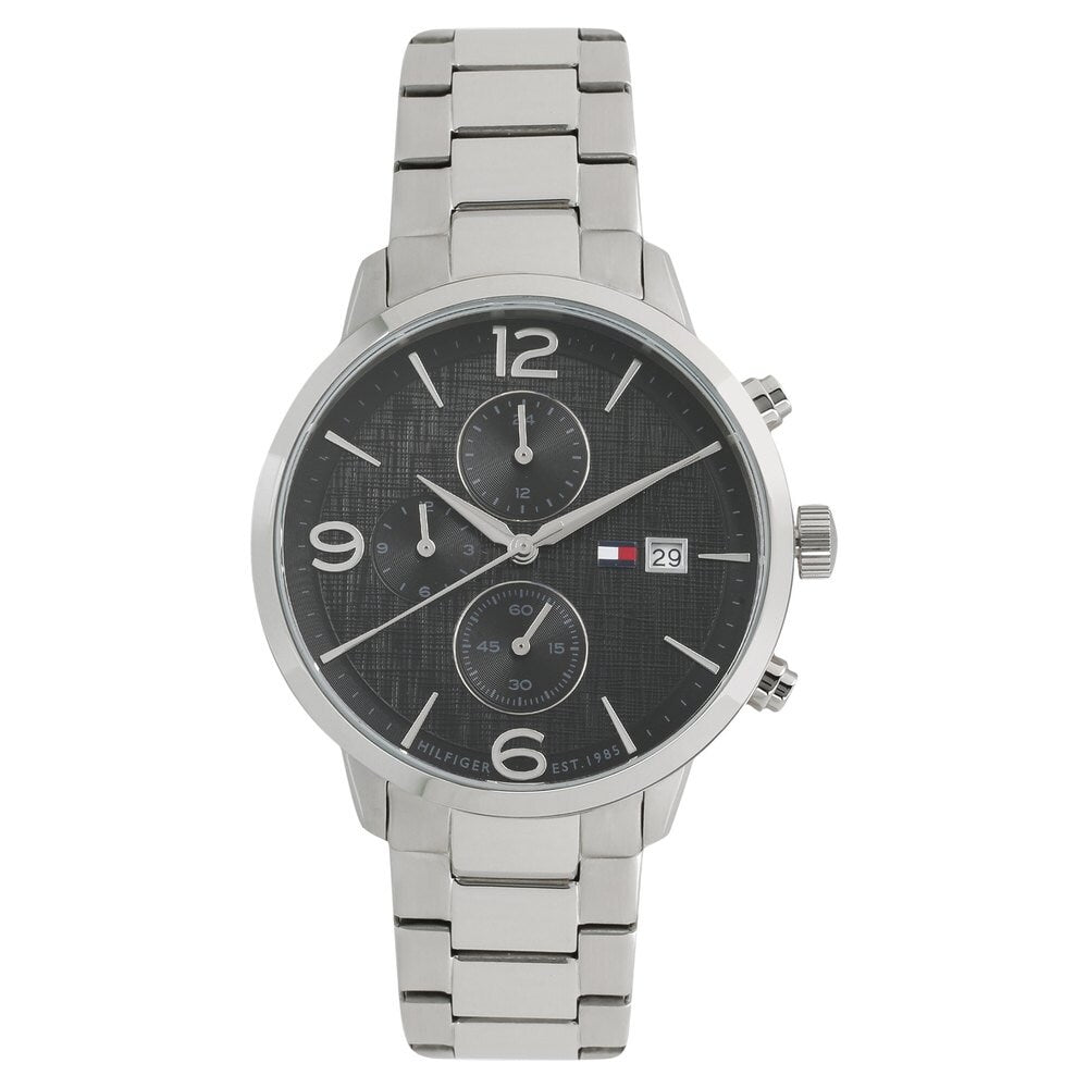 Tommy Hilfiger Analog Black Dial Men's Watch - TH1710356