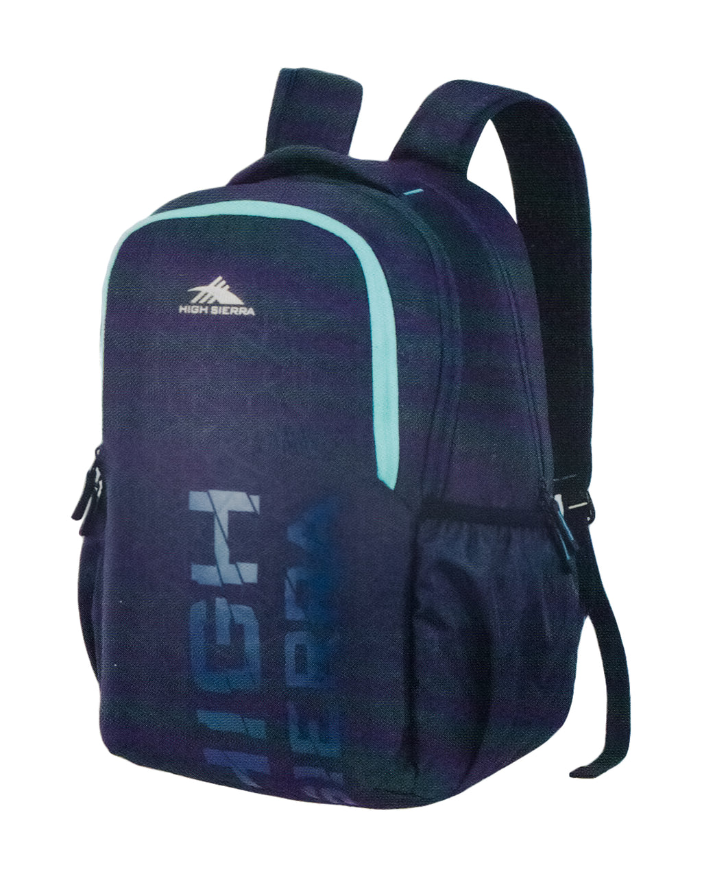 High Sierra Canyon 01 Laptop Backpack By American Tourister (Blue)