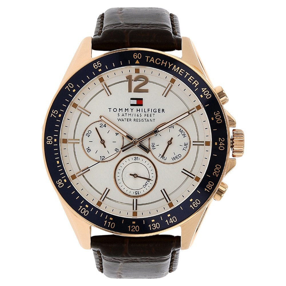 Tommy Hilfiger Analog Blue Dial Men's Watch - TH1791421