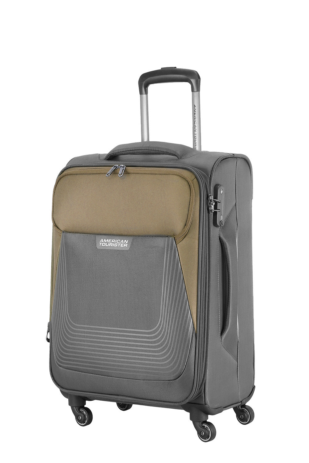 AMERICAN TOURISTER SOUTHSIDE SPINNER SOFT LUGGAGE (GREY)
