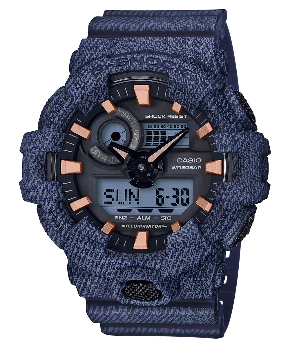 Casio G-Shock GA-700DE-2ADR (G759) Denim Series Men's Watch