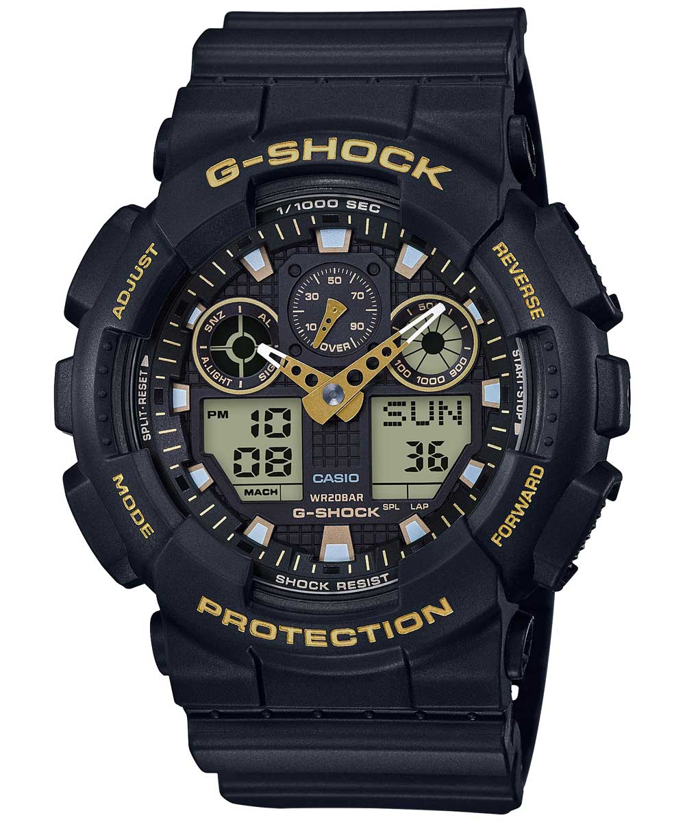Casio G-Shock GA-100GBX-1A9DR (G780) Special Edition Men's Watch