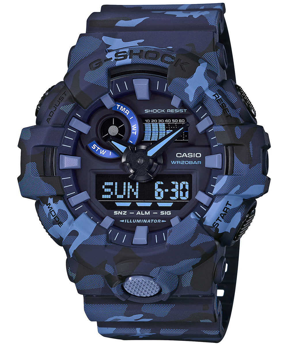 Casio G-Shock GA-700CM-2ADR (G823) Camouflage Men's Watch
